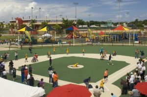 The Miracle League North Bay Field